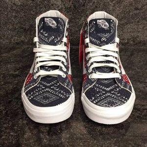 99dedda2646 Vans Shoes - Vans Sk8-Hi Reissue Ditsy Bandana Pepper Shoes